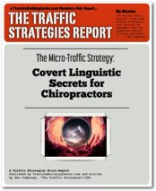 The Traffic Strategy Report: Covert Linguistic Secrets for Chiropractors