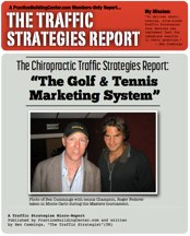 The Traffic Strategy Report: The Golf & Tennis Marketing System
