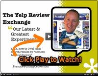 Chiropractic Marketing VIDEO: Yelp Reviews = Patients!